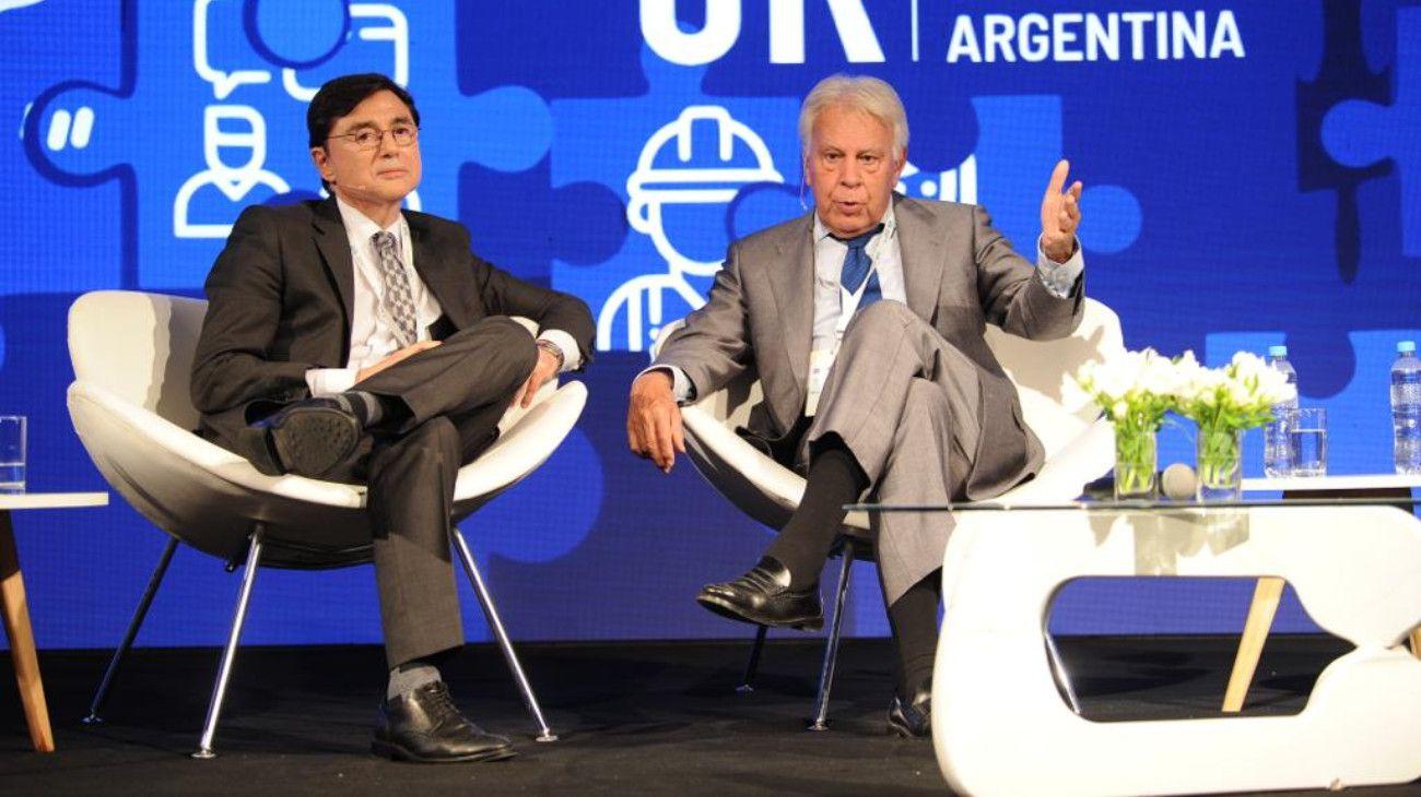 25º Conferencia Industrial de la UIA: Jorge Fontevecchia entrevistó a Felipe González