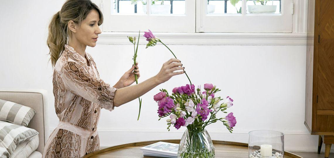Conocé la casa de la mejor florista argentina
