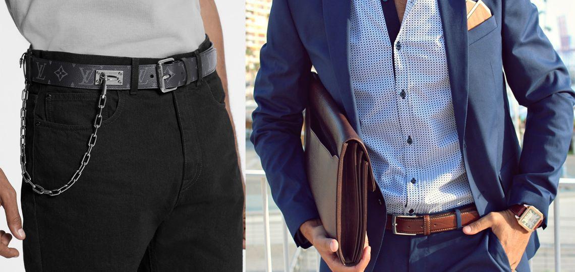 Los cinturones: el objeto fetiche de los hombres