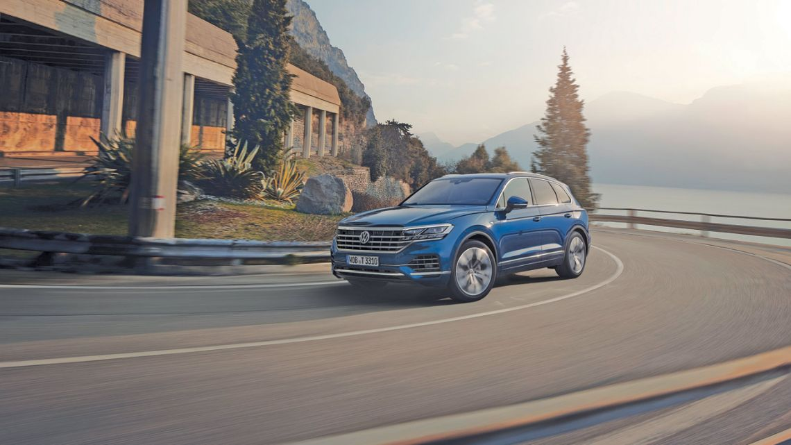 Volkswagen Touareg    Foto:cedoc