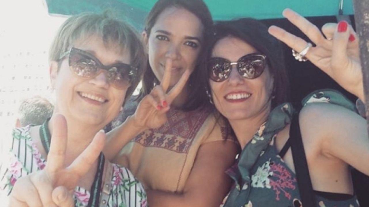 Lali Minnicelli, Mónica García y Florencia Prego | Foto:Cedoc