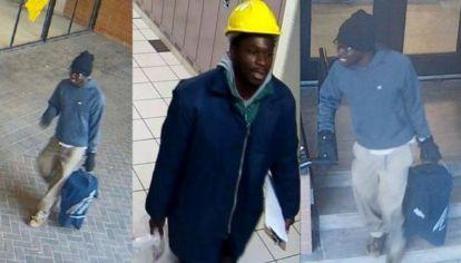 El agresor logró ser detenido y fue identificado como Samuel Opoku, de 23 años.