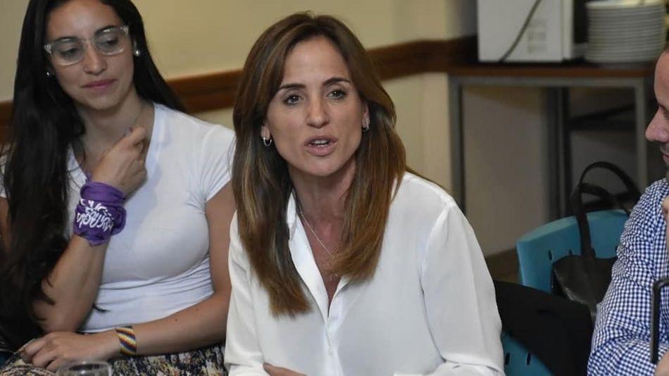 Victoria Tolosa Paz con Generación Patriótica en el marco de Argentina contra el hambre