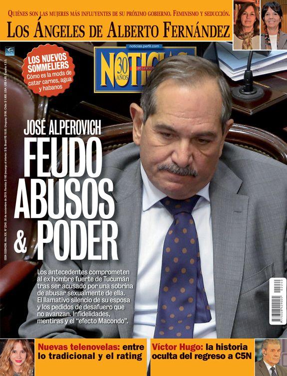 Resultado de imagen para revista noticias alperovich