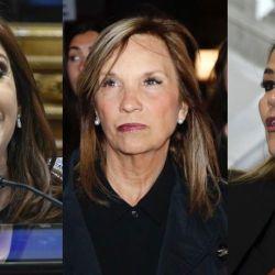 Cristina Kirchner, Beatriz Argimon y Jeanine Áñez | Foto:Cedoc