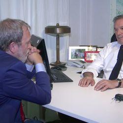 Felipe Solá y Edi Zunino | Foto:Cedoc