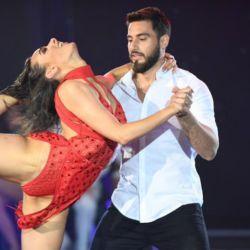 Flor Jazmin y Nico Occhiato bailando bachata