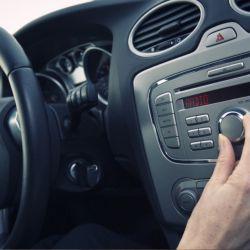 Radio en el auto