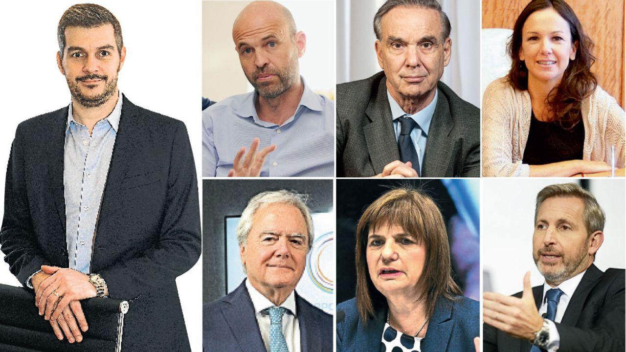 Ex miembros del Gabinete de Mauricio Macri | Foto:Cedoc