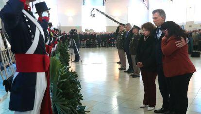 Macri, en el acto del 4 de octubre en Formosa.