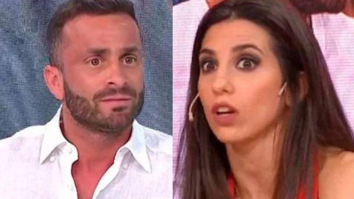 El enojo de Cinthia Fernández con Martín Baclini por un polémico comentario