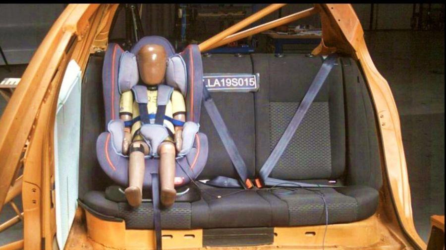 Pusieron a prueba la seguridad de 11 sillas infantiles