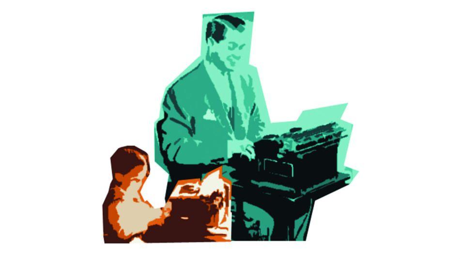 padres hijos escritores