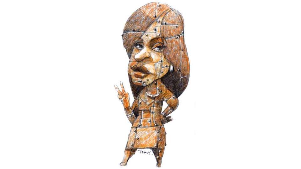 De fierro. Cristina Fernández