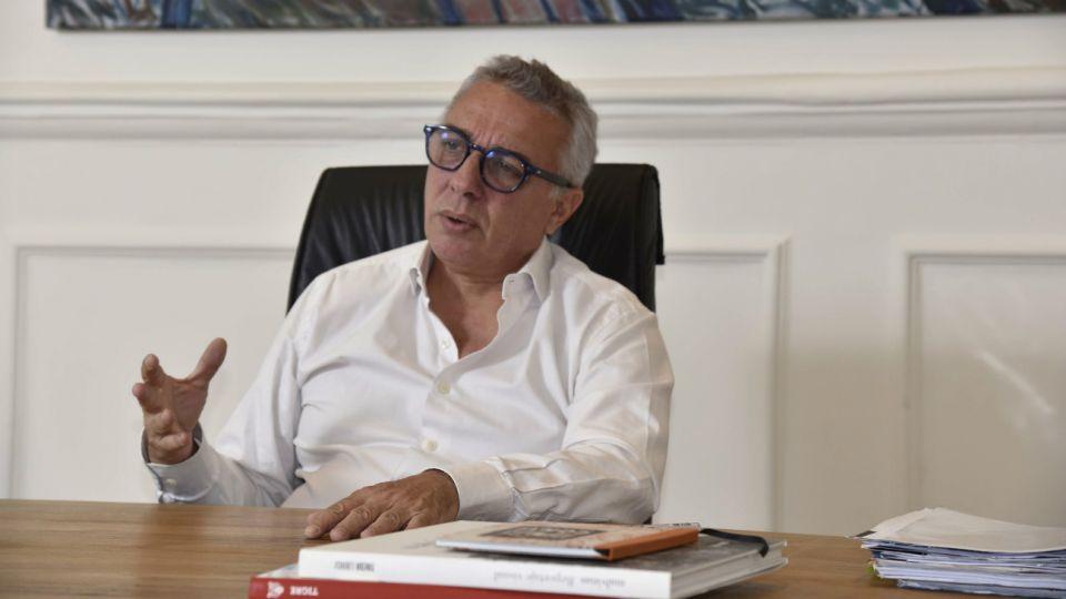 El intendente del partido bonaerense de Tigre, Julio Zamora