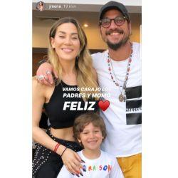 Jimena y Daniel Osvaldo se reencontraron