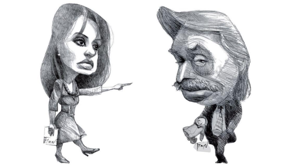 La grieta entre Alberto Fernández y Cristina Kirchner