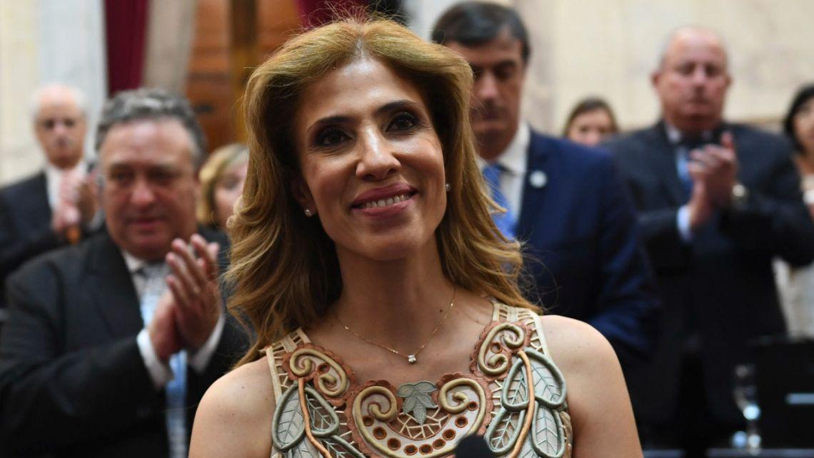As vice-president, Fernández de Kirchner will be heading the Senate with Santiago del Estero Senator and ex-governor, Claudia Ledesma.