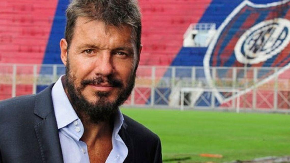 Marcelo Tinelli dará un paso trascendental en San Lorenzo