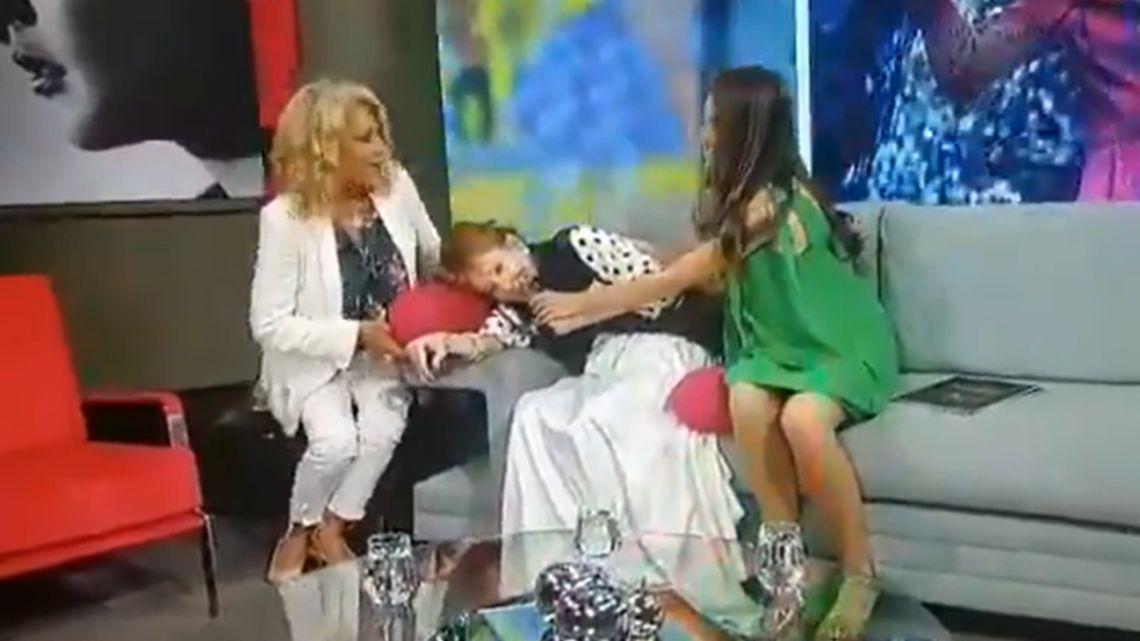 Filtran un humillante video de Pinky durante la grabación del programa