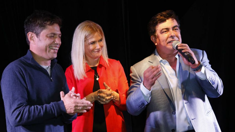 En la cena con los empresarios matanceros, Kicillof, Magario y Espinoza hablaron de la reactivación económica.
