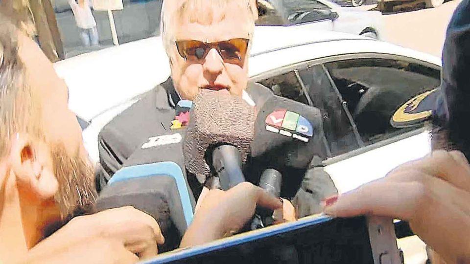 Dolores. Declarado en rebeldía durante casi nueve meses, Stornelli fue ayer al juzgado de Ramos Padilla.