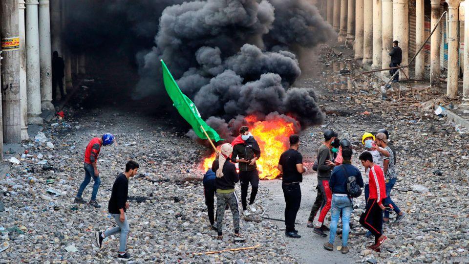 Violencia. Los sectores más pobres del país son los que tienen manifestaciones más intensas.