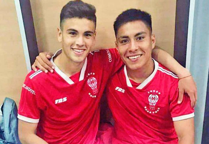 Walter Pérez y Federico Marín