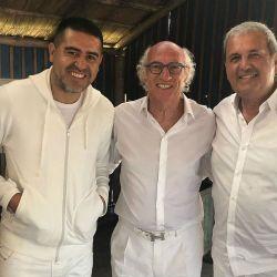 Riquelme y Carlos Bianchi