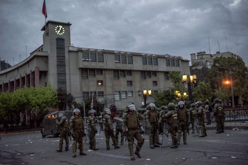 Banco Central de Chile: actividad económica cayó un 3,4% en octubre