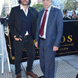 Agustino y Alberto Fontevecchia | Foto:Fotógrafos de Grupo Perfil