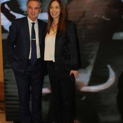 Miguel Ángel Pichetto y María Eugenia Vidal | Foto:Fotógrafos de Grupo Perfil