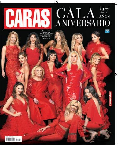 CARAS celebra sus 27 años y lo festeja con las máximas celebrities del país