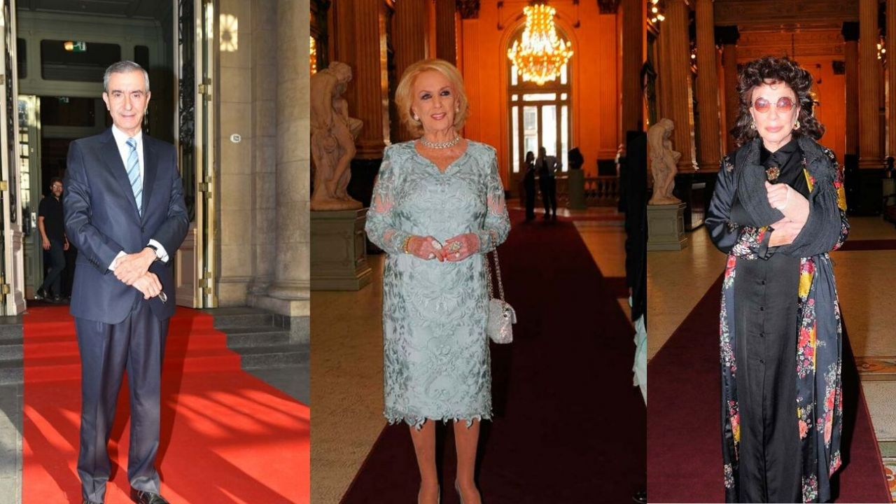 Nelson Castro, Mirtha Legrand y Graciela Borges. | Foto:Fotógrafos de Grupo Perfil