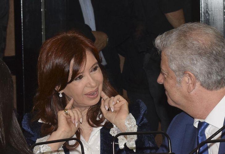 Cristina Fernández de Kirchner en tribunales 20191202