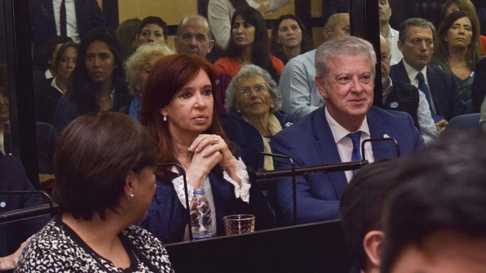 Cristina Kirchner en tribunales 20191202