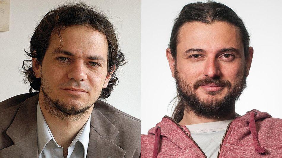 Lucas Llach y Juan Grabois 20191202