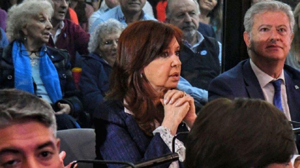 Imagen de archivo   La vicepresidenta electa Cristina Fernández de Kirchner.