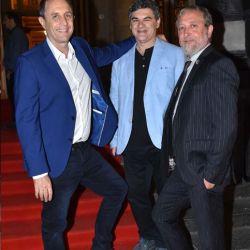 Ernesto Tenenbaum, Fernando González y Edi Zunino   Foto:Equipo de Fotografía de Perfil