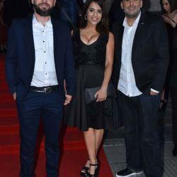 Victoria Donda, con Federico Diberto y Daniel Menéndez   Foto:Equipo de Fotografía de Perfil