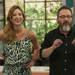 Gerardo Rozín y Jésica Cirio en Morfi