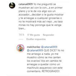 La furia de Melina Lezcano