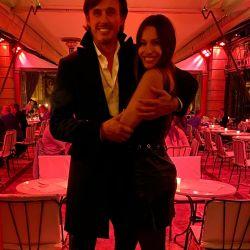 Pampita y Robert en su luna de miel