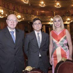 Jorge Fernández Díaz, Jorge Fontevecchia y María Victoria Alcaraz   Foto:Equipo de Fotografía de Perfil