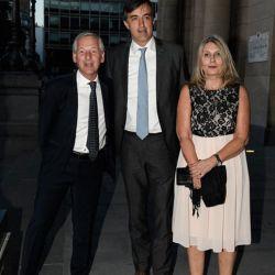 Marcelo Longobardi, Esteban Bullrich y Corneli Smith   Foto:Equipo de Fotografía de Perfil
