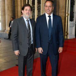 Lautaro Mauro y Daniel Scioli   Foto:Equipo de Fotografía de Perfil
