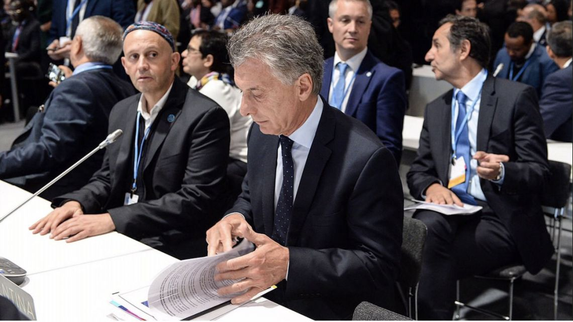 President Mauricio Macri Participating in the 25th UN Climate Change Conference in Madrid