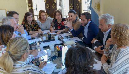 Reunión de los integrantes de la Coalición Cívica sin Elisa Carrió y con Maxi Ferraro a la cabeza.