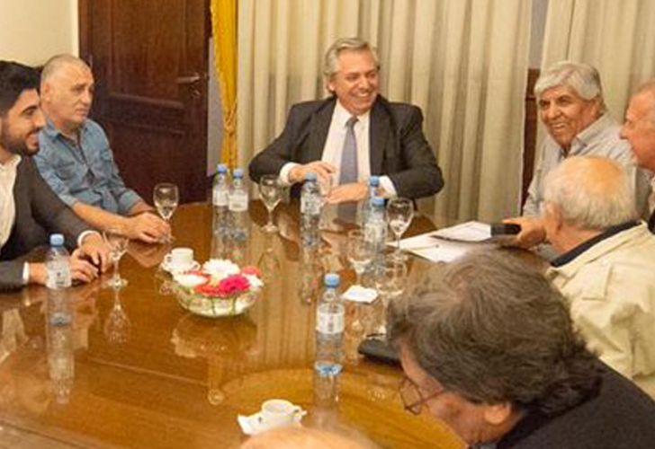 Alberto se reunió con Moyano y hay ruido por el ministro de ...