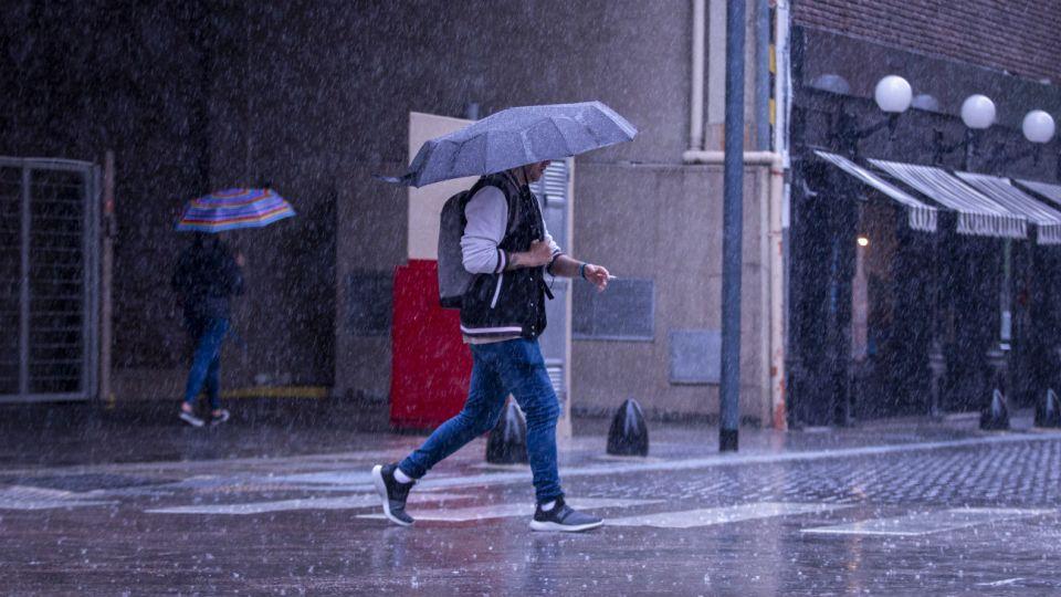 Ante la posibilidad de que las lluvias sean fuertes, el SMN emitió un alerta meteorológico.